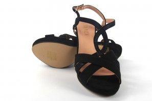 Sandalia señora LA PUSH 5057 negro
