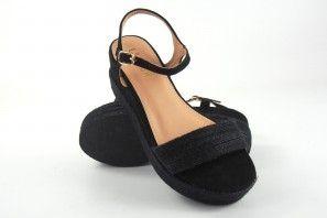 Sandale femme LA PUSH 2115 noir