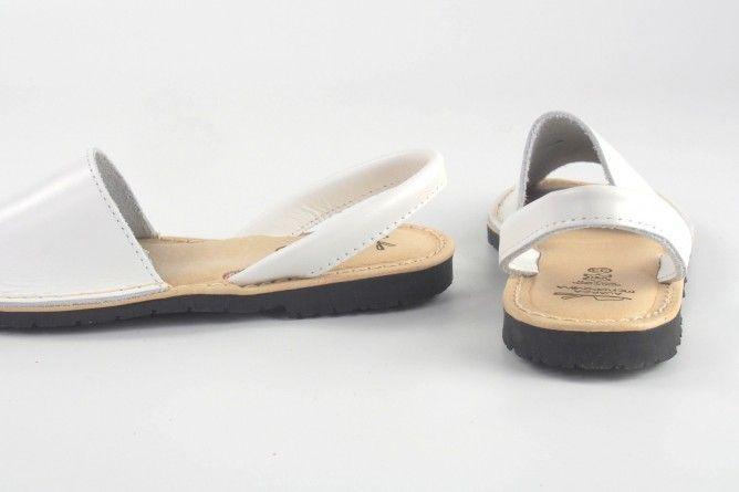 Sandalia niña DUENDY 9350 blanco