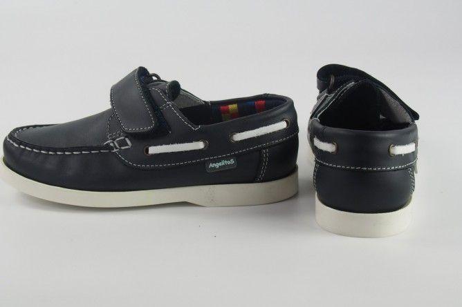 Zapato niño ANGEL MAÑAS 541 azul