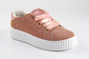 Chaussure fille XTI KIDS 55729 saumon