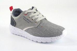 Zapato niño BUBBLE BOBBLE a2293-s/a2293-l gris