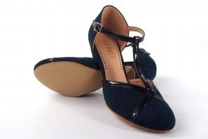 Damenschuh LA PUSH 5015 blau