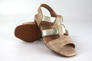 Sandale femme MARIA JAEN 8500 platine