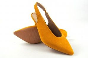 Zapato señora BEBY 19757 mostaza
