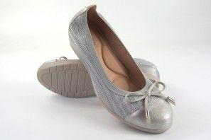 Zapato señora AMARPIES 15221 acs plata