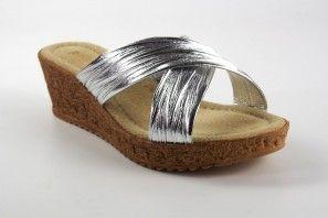 Sandalia señora KELARA c02 plata