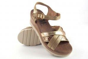 Sandalia señora XTI BASIC 47939 oro