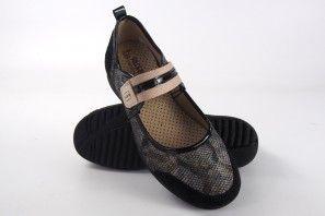 Zapato señora VULCA BICHA 1161 negro