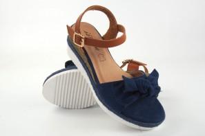 Sandalia señora ISTERIA 9030 azul