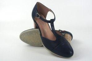 Zapato señora Bienve 19-08 azul
