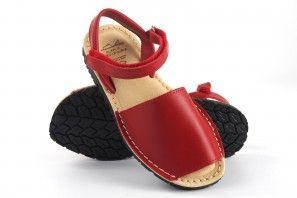 Sandalia niña DUENDY 9361 rojo