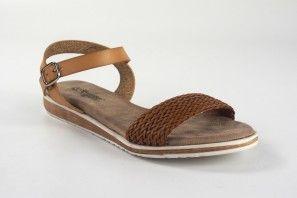 Sandalia señora AMARPIES 15004 abz cuero