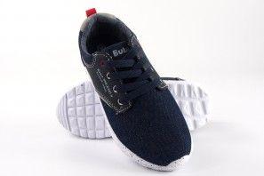 Chaussure Garçon BUBBLE BOBBLE A2293-S / A2293-L Bleu