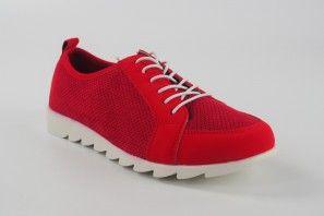 Zapato señora AMARPIES 15153 aqh rojo