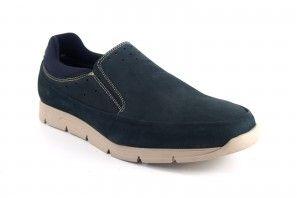 Chaussure homme BAERCHI 5087 bleu