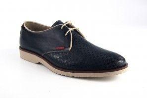 Zapato caballero BAERCHI 4080 placa azul