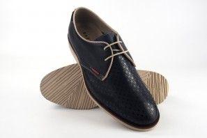 Chaussure homme BAERCHI 4080 plaque bleue
