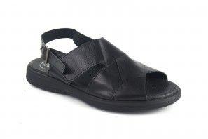 Sandalia caballero DUENDY 965 negro