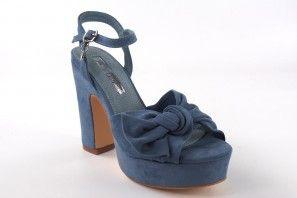 Sandale femme XTI 32074 bleu