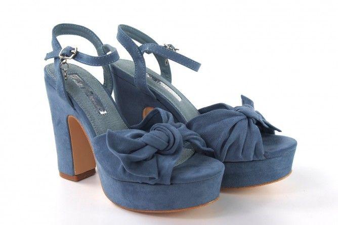 Sandalia señora XTI 32074 azul