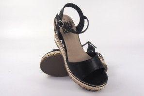 Sandalia señora XTI BASIC 46766 negro