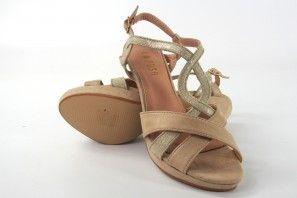 Sandale femme LA PUSH 5057 beige