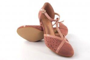 Zapato señora LA PUSH 5015 salmon