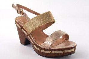Sandale femme LA PUSH 5033 platine