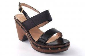 Sandale femme LA PUSH 5033 noir