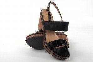 Sandalia señora LA PUSH 5033 negro