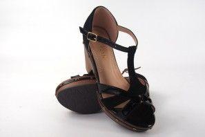 Sandale femme LA PUSH 5101 noir