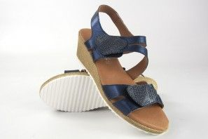Sandalia señora BELLATRIX 557 azul
