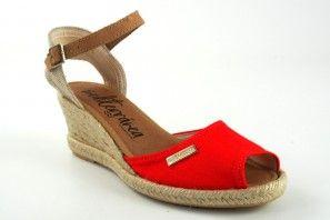 Zapato señora CALZAMUR 722 rojo