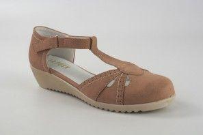 Zapato señora LA PUSH 4300 salmon