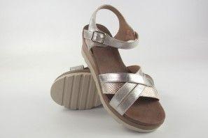 Sandalia señora XTI BASIC 47939 plata