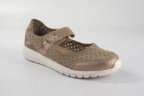 Zapato señora YUMAS angelica beig