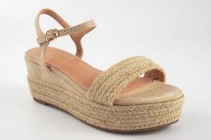 Sandale femme LA PUSH 2115 beige