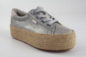 Zapato señora MUSTANG 69476 plata