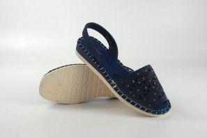 Sandalia señora AMARPIES 15051 abz azul