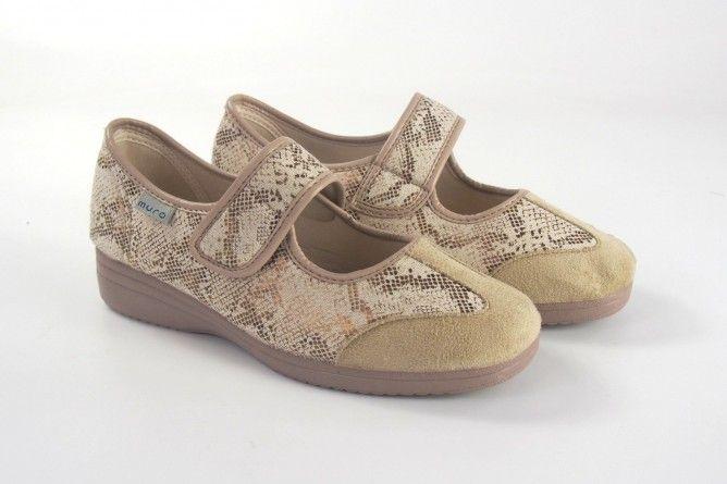 Zapato señora MURO 808 beig