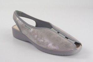 Chaussure femme MURO 818 argent