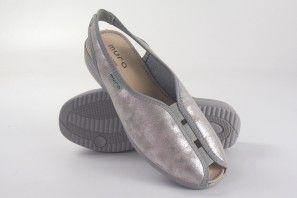Damenschuh MURO 818 Silber