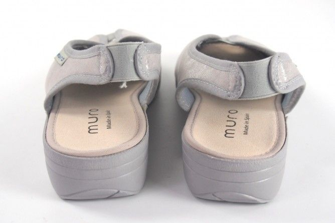 Zapato señora MURO 818 plata