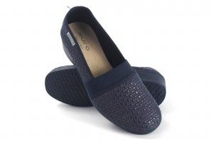 Zapato señora MURO 632 azul