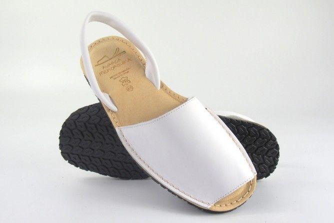 Sandalia caballero DUENDY 9350 blanco