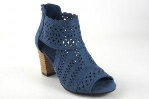 Botín señora XTI 44093 azul