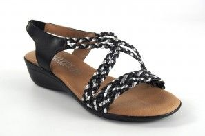 Sandalia señora BELLATRIX 323 negro