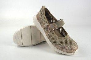 Zapato señora YUMAS kendall beig