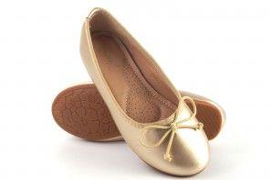 Zapato niña BUBBLE BOBBLE a2551 oro